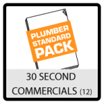 Grow your plumbing business with leads and referrals and a well prepared 30 second commercial.